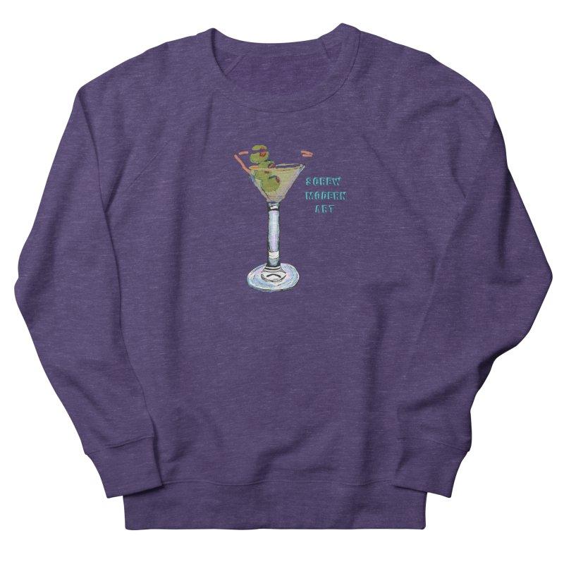 Screw Modern Art Men's Sweatshirt by LlamapajamaTs's Artist Shop