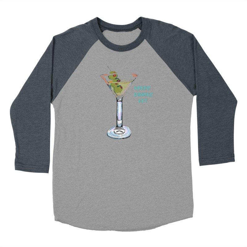 Screw Modern Art Men's Baseball Triblend T-Shirt by LlamapajamaTs's Artist Shop