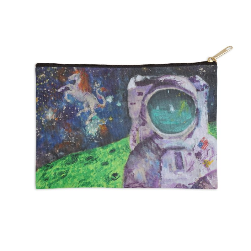 Random Coherence Accessories Zip Pouch by LlamapajamaTs's Artist Shop