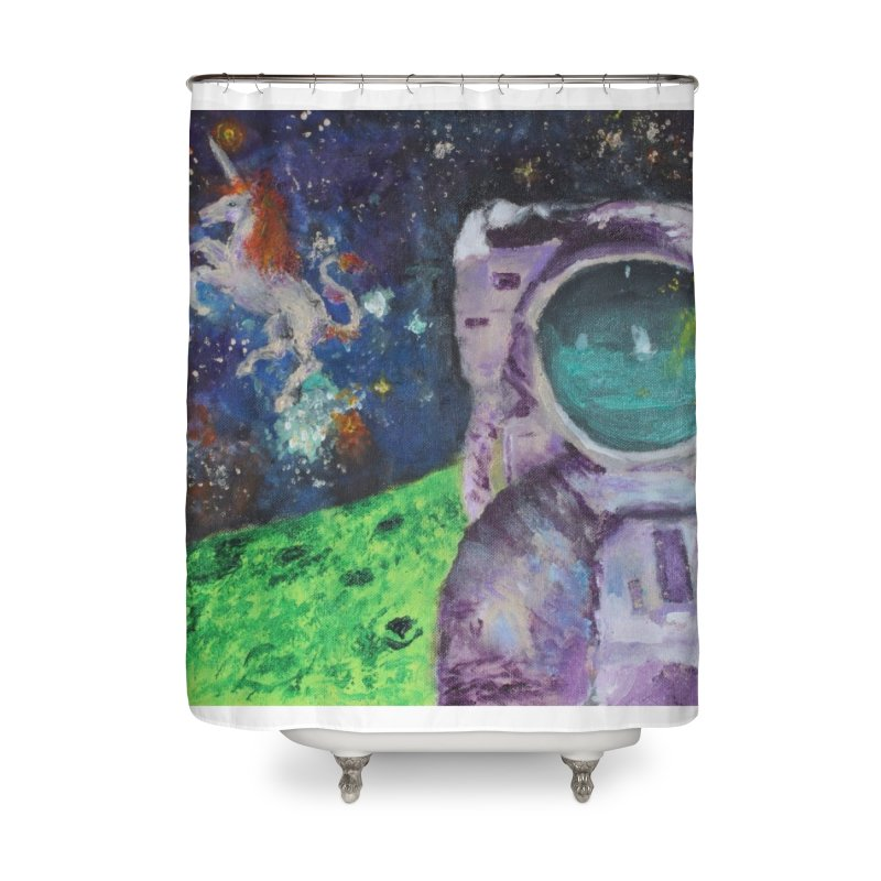 Random Coherence Home Shower Curtain by LlamapajamaTs's Artist Shop
