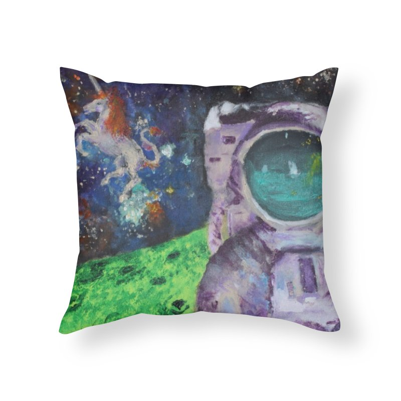 Random Coherence Home Throw Pillow by LlamapajamaTs's Artist Shop