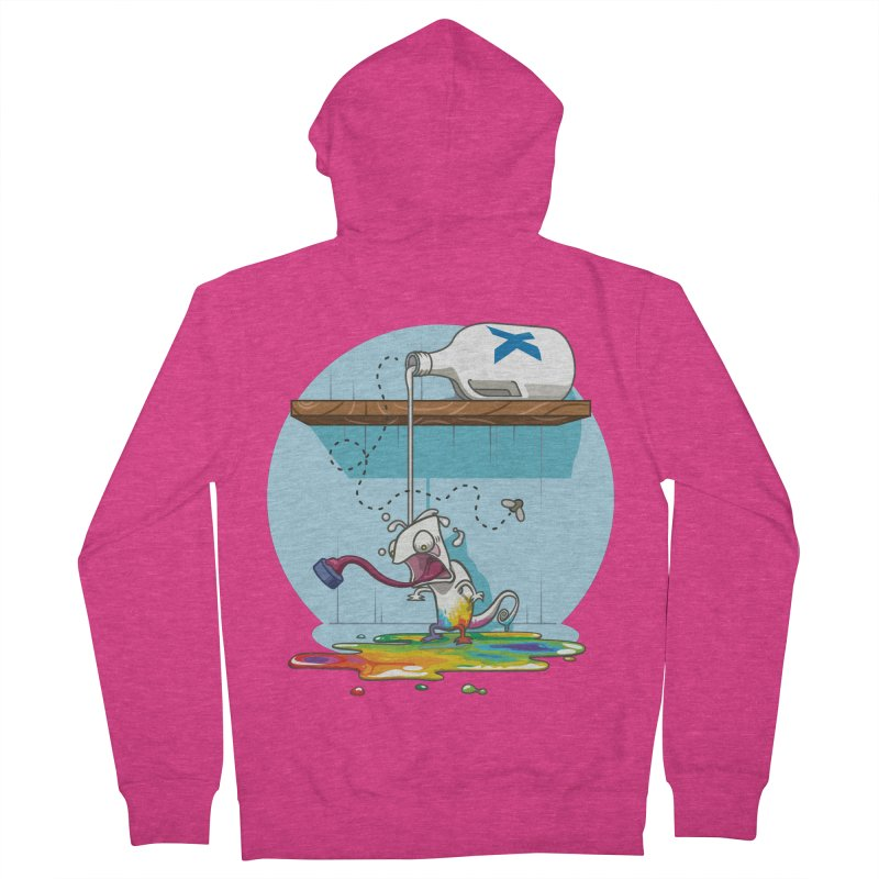 Gluttony goes colorless Women's French Terry Zip-Up Hoody by Llorch's Shop