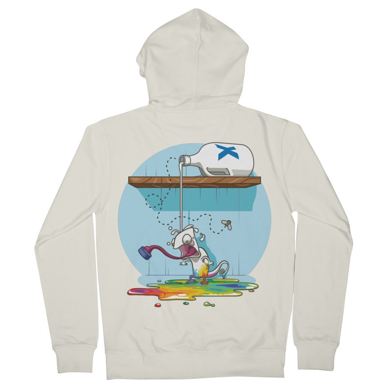 Gluttony goes colorless Women's Zip-Up Hoody by Llorch's Shop