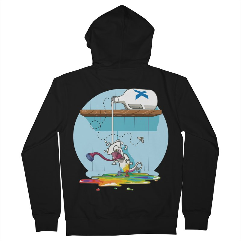 Gluttony goes colorless Men's Zip-Up Hoody by Llorch's Shop
