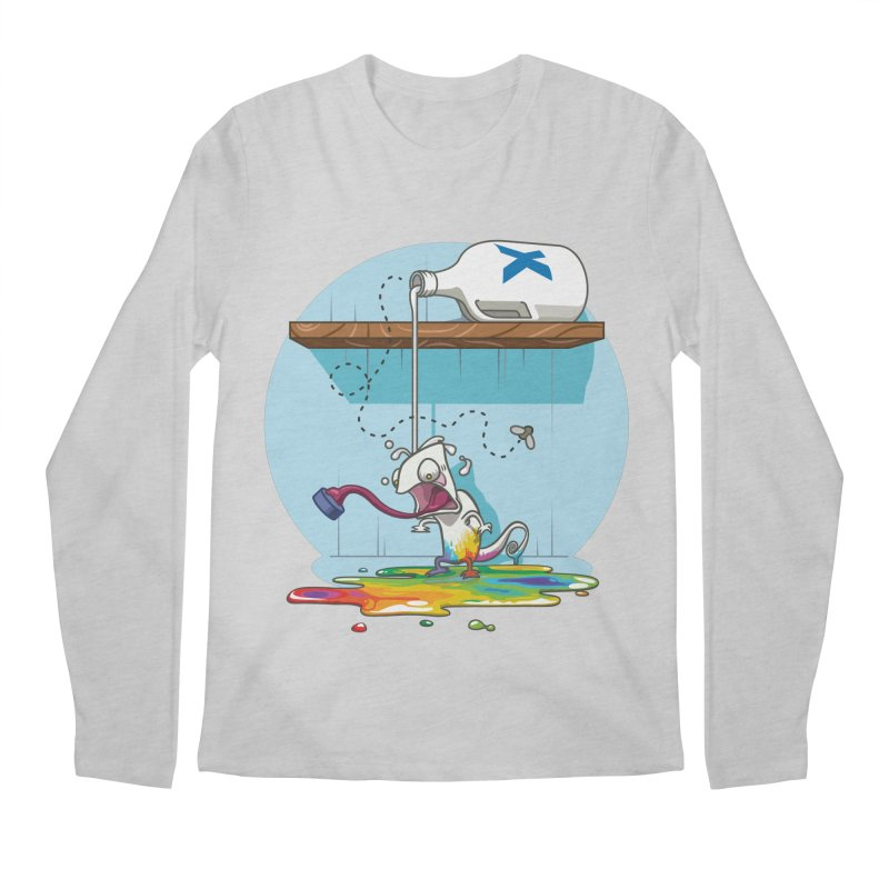 Gluttony goes colorless Men's Longsleeve T-Shirt by Llorch's Shop