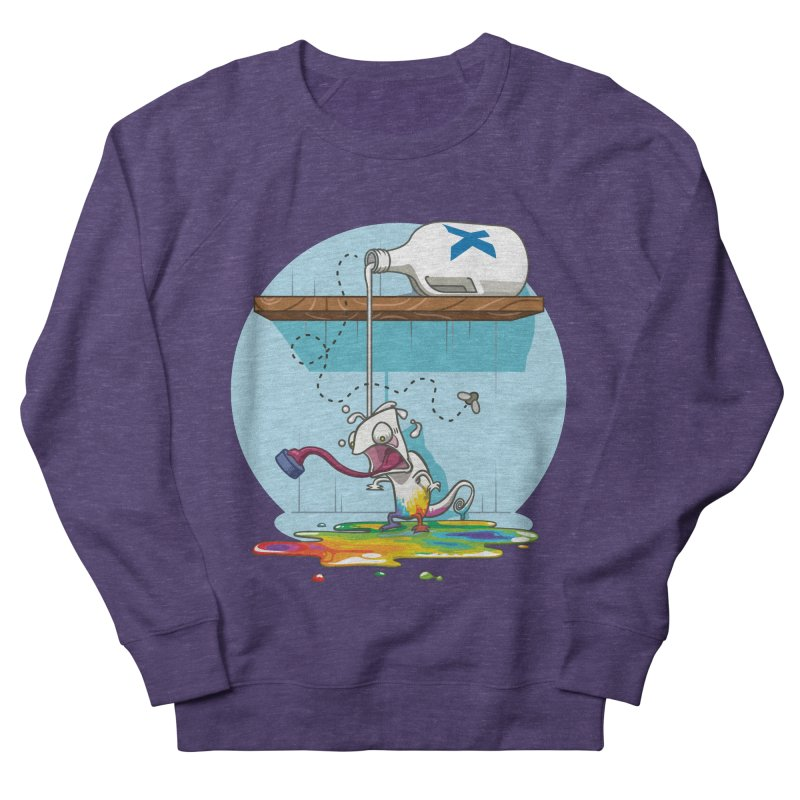 Gluttony goes colorless Men's French Terry Sweatshirt by Llorch's Shop