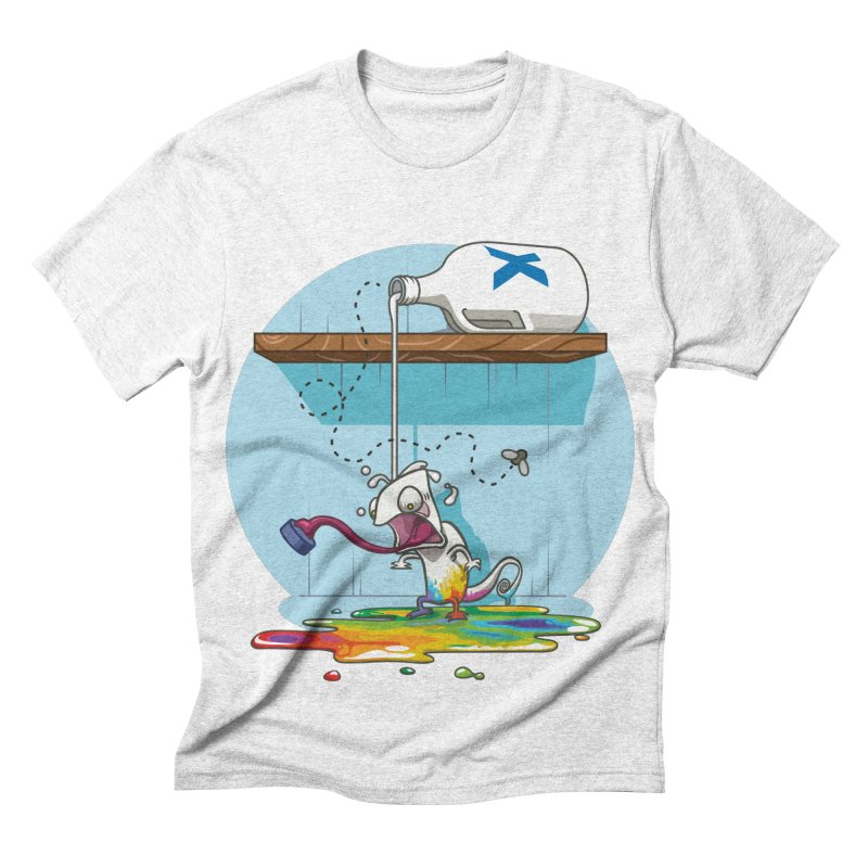 Gluttony goes colorless Men's Triblend T-shirt by Llorch's Shop