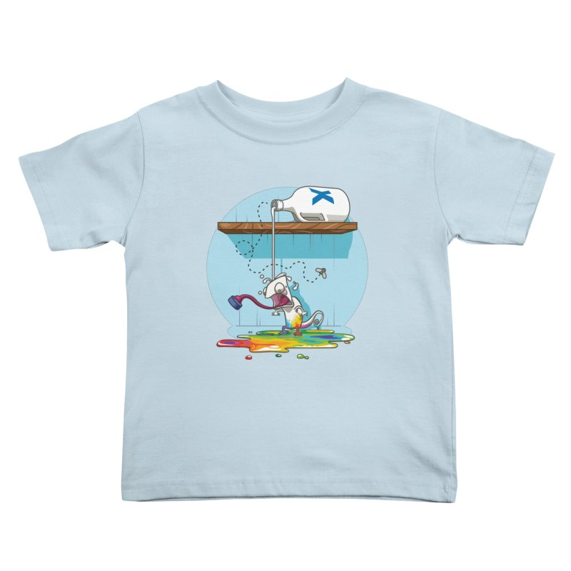 Gluttony goes colorless Kids Toddler T-Shirt by Llorch's Shop