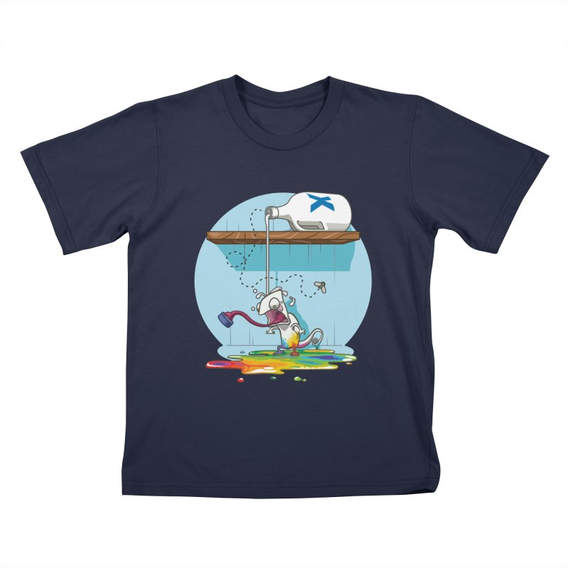 Gluttony goes colorless Kids T-shirt by Llorch's Shop