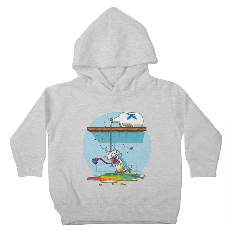 Gluttony goes colorless Kids Toddler Pullover Hoody by Llorch's Shop