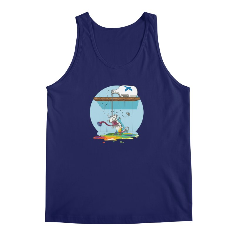 Gluttony goes colorless Men's Tank by Llorch's Shop