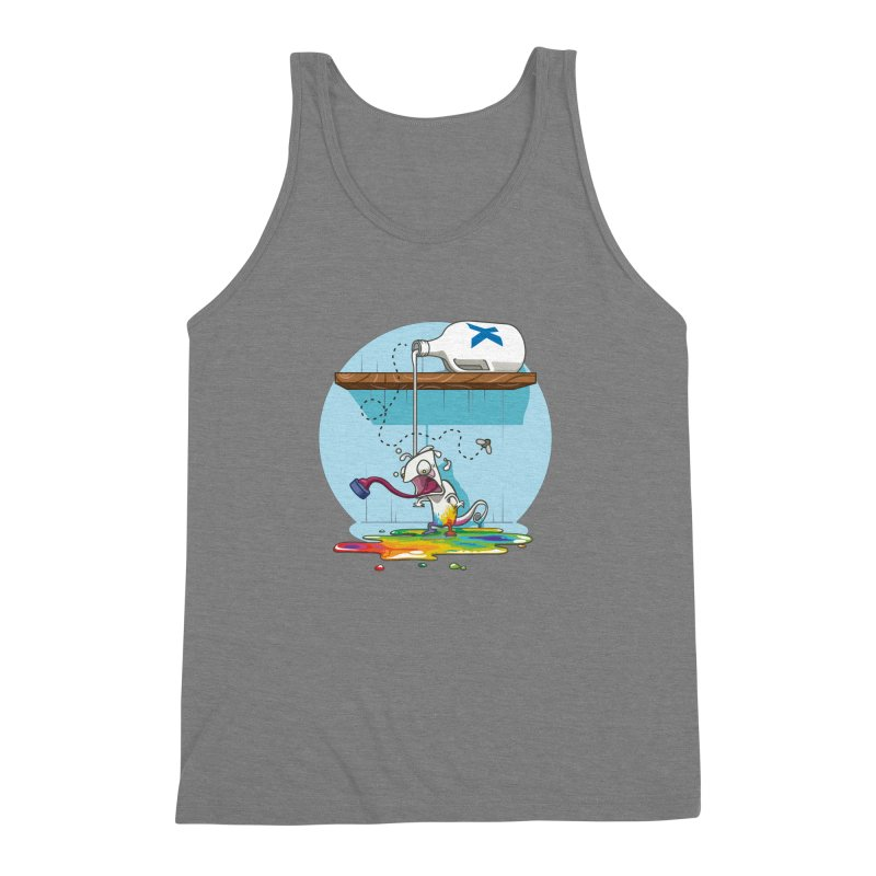 Gluttony goes colorless Men's Triblend Tank by Llorch's Shop