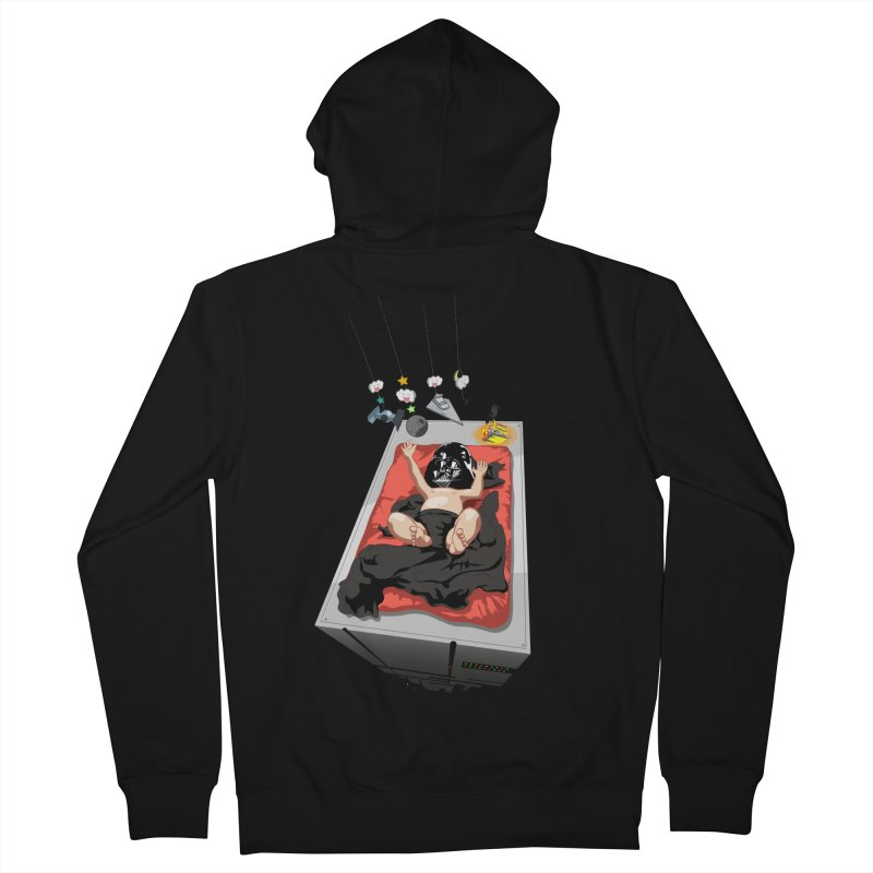 Dark child Women's French Terry Zip-Up Hoody by Llorch's Shop