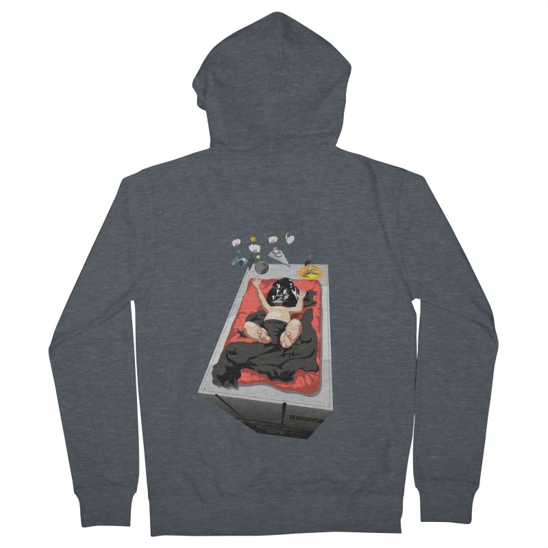 Dark child Men's French Terry Zip-Up Hoody by Llorch's Shop
