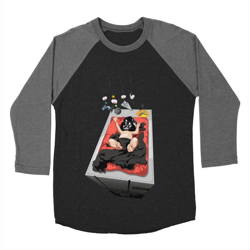 Dark child Men's Baseball Triblend Longsleeve T-Shirt by Llorch's Shop