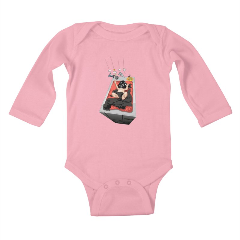 Dark child Kids Baby Longsleeve Bodysuit by Llorch's Shop