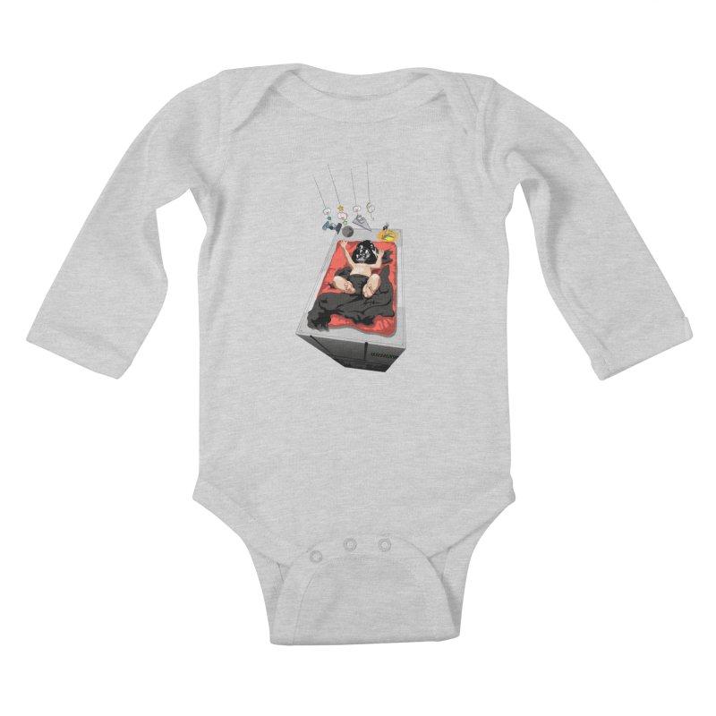 Dark child Kids Baby Longsleeve Bodysuit by Llorch's Shop