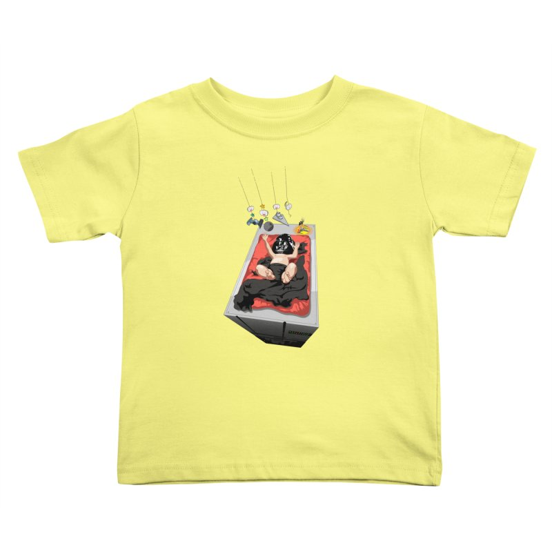 Dark child Kids Toddler T-Shirt by Llorch's Shop