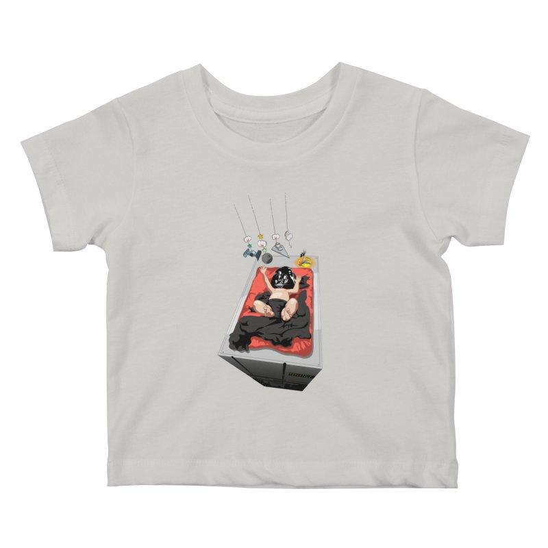 Dark child Kids Baby T-Shirt by Llorch's Shop