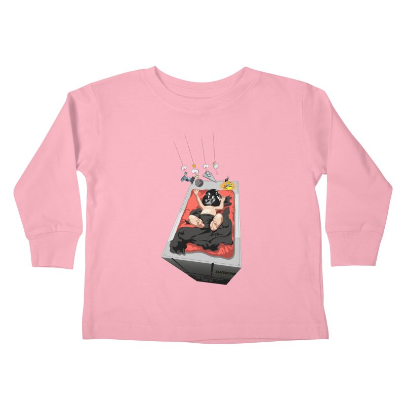 Dark child Kids Toddler Longsleeve T-Shirt by Llorch's Shop