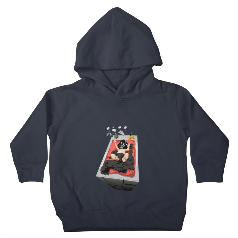 Dark child Kids Toddler Pullover Hoody by Llorch's Shop