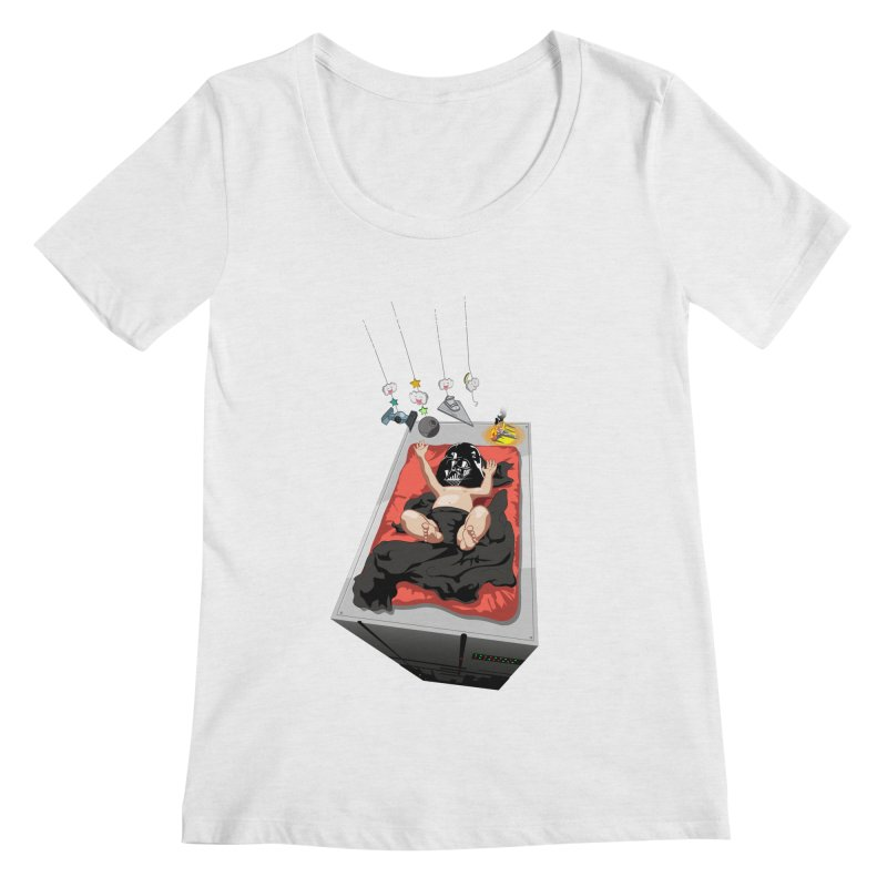 Dark child Women's Scoopneck by Llorch's Shop