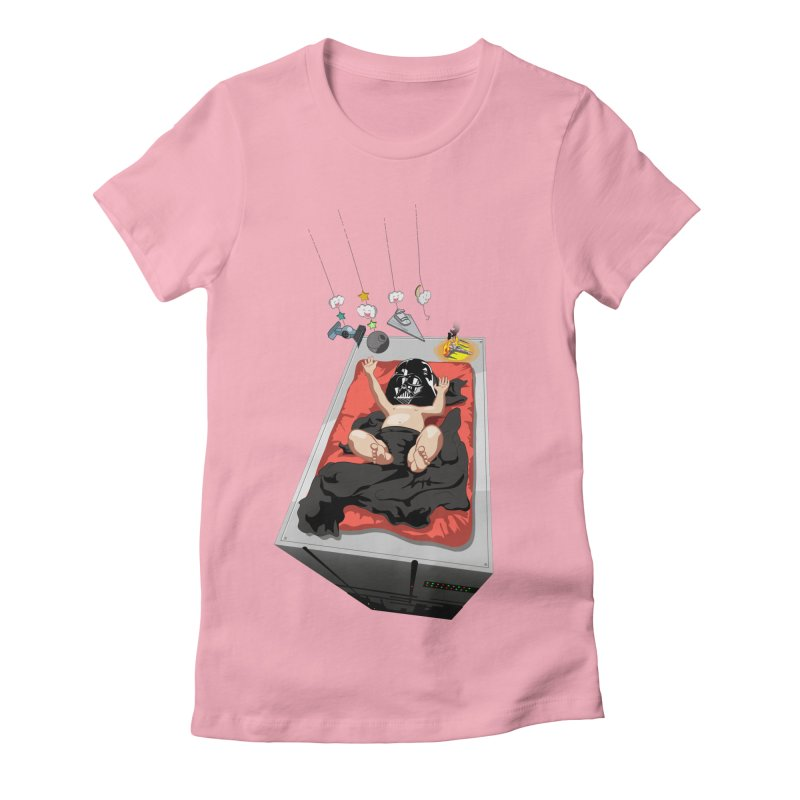 Dark child Women's Fitted T-Shirt by Llorch's Shop