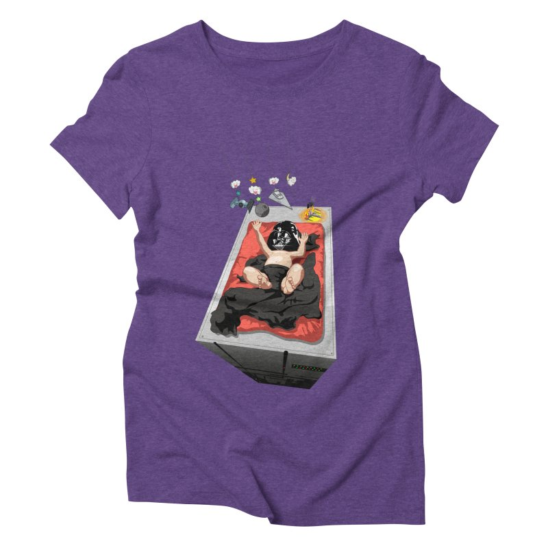 Dark child Women's Triblend T-Shirt by Llorch's Shop