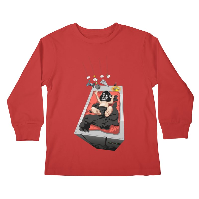Dark child Kids Longsleeve T-Shirt by Llorch's Shop