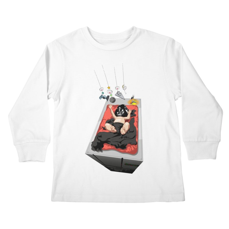 Dark child Kids Longsleeve T-Shirt by Llorch's Shop
