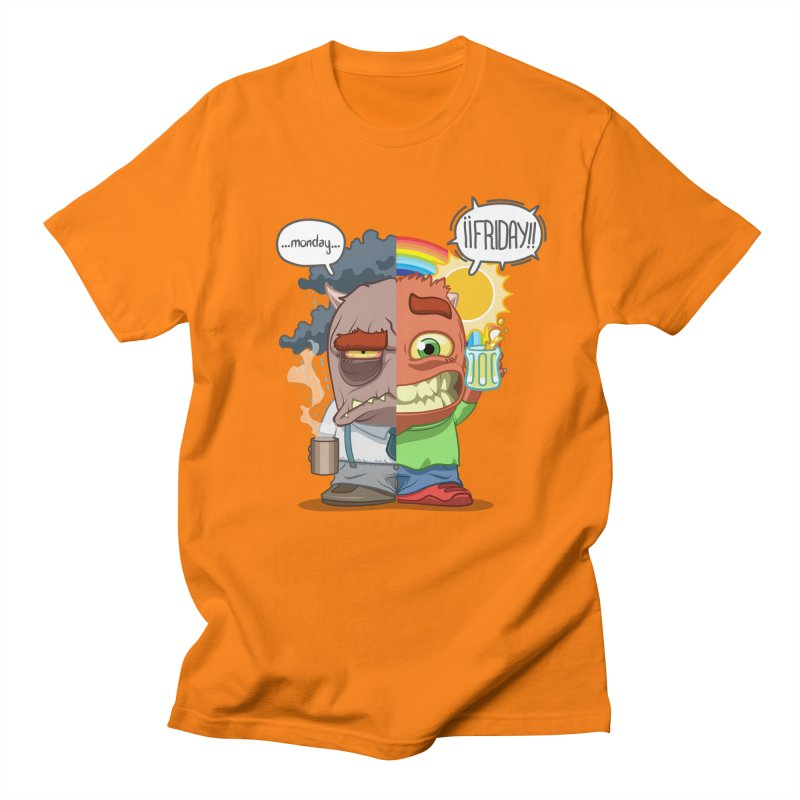 Dr. Monday and Mr. Friday Men's T-shirt by Llorch's Shop
