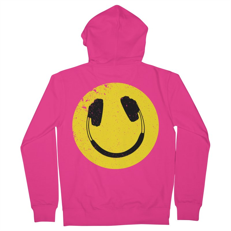 Music makes me feel good! Men's Zip-Up Hoody by Llorch's Shop