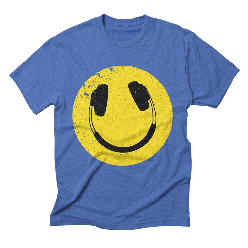 Music makes me feel good! Men's Triblend T-shirt by Llorch's Shop