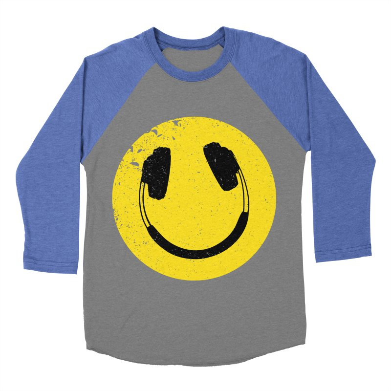Music makes me feel good! Men's Baseball Triblend Longsleeve T-Shirt by Llorch's Shop