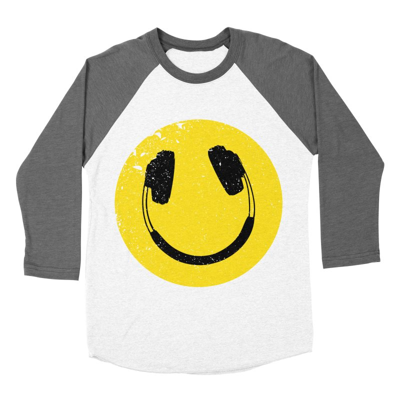 Music makes me feel good! Men's Baseball Triblend T-Shirt by Llorch's Shop