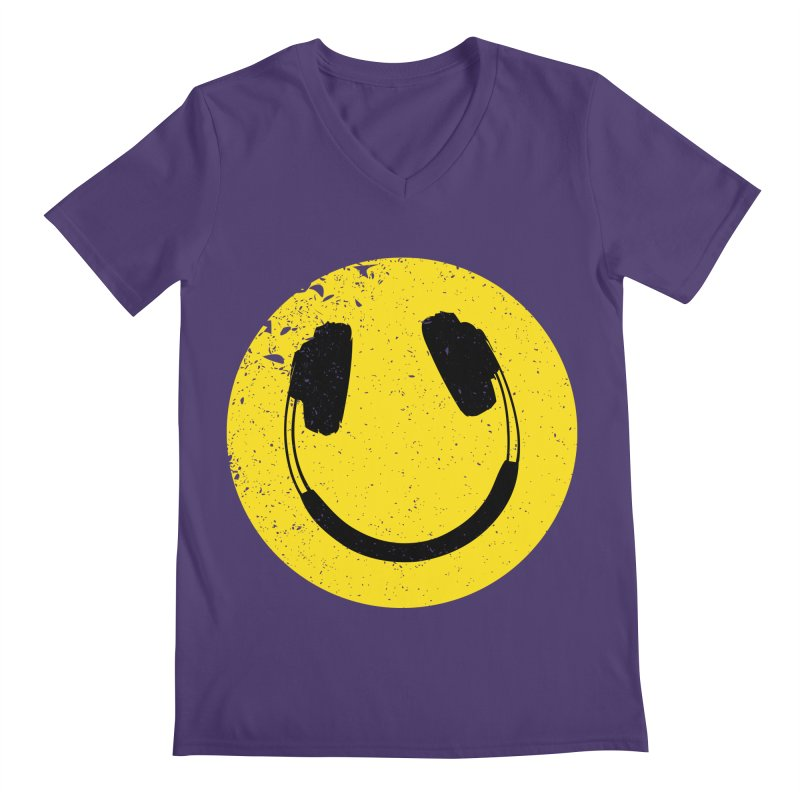 Music makes me feel good! Men's V-Neck by Llorch's Shop