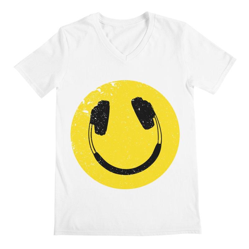 Music makes me feel good! Men's V-Neck by Llorch's Shop