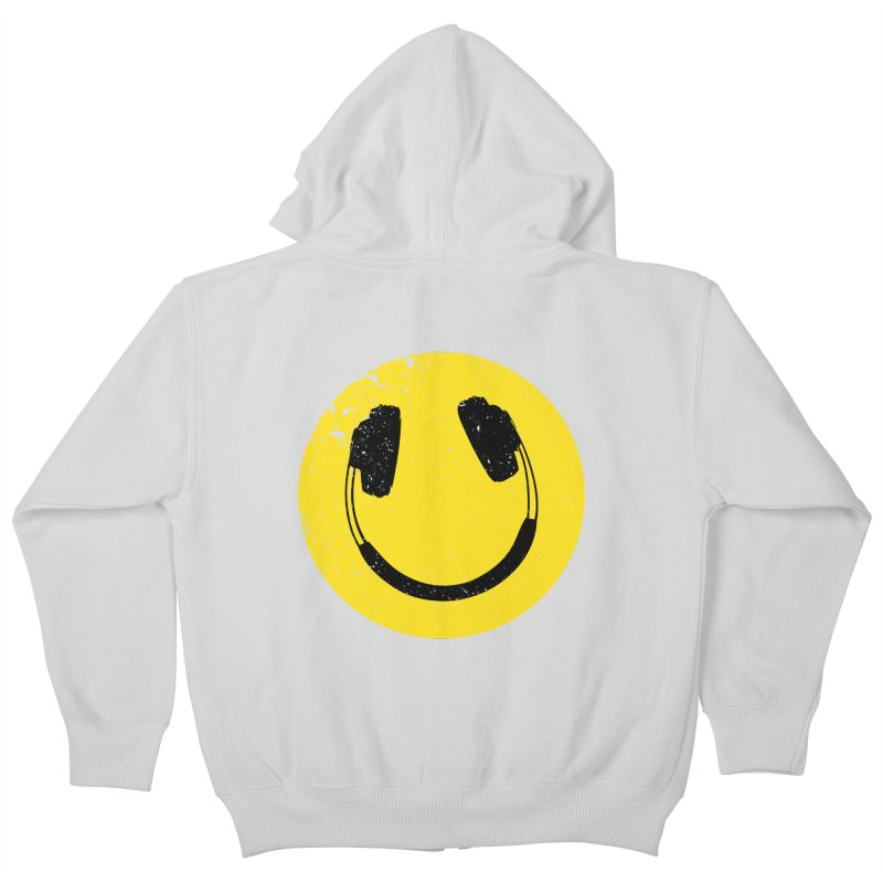 Music makes me feel good! Kids Zip-Up Hoody by Llorch's Shop
