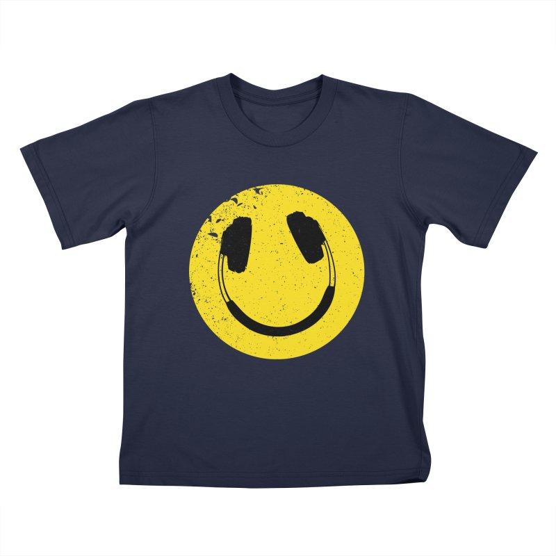 Music makes me feel good! Kids T-shirt by Llorch's Shop
