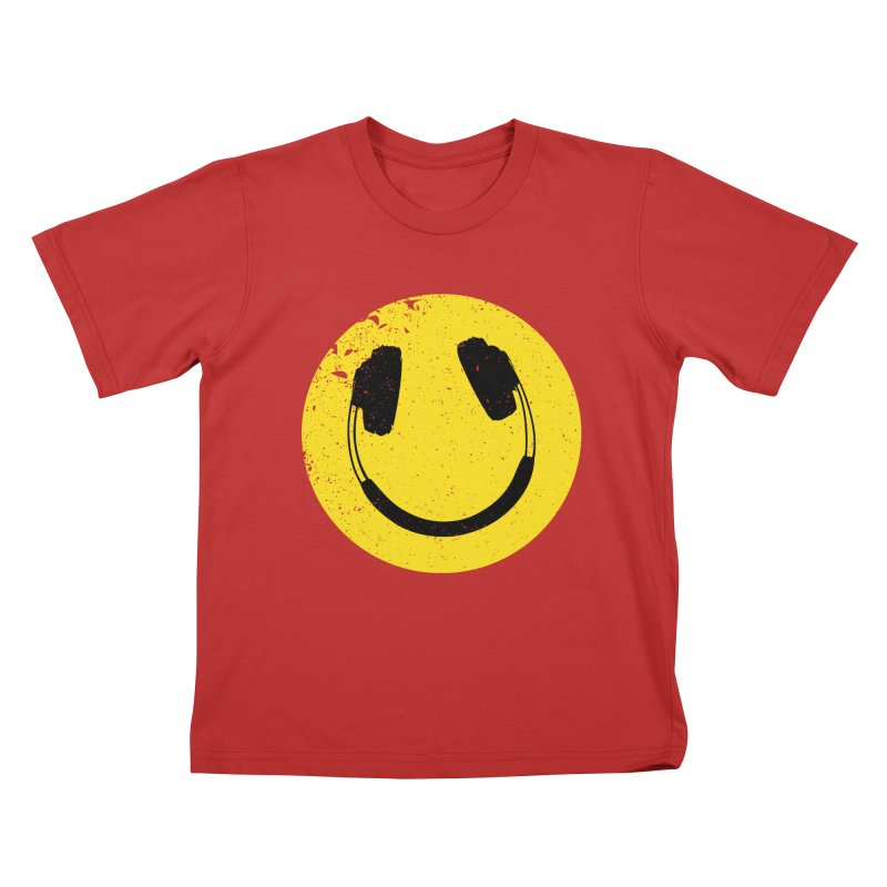 Music makes me feel good! Kids T-Shirt by Llorch's Shop