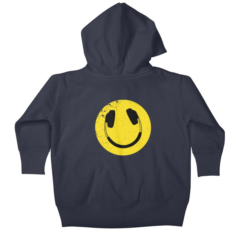 Music makes me feel good! Kids Baby Zip-Up Hoody by Llorch's Shop