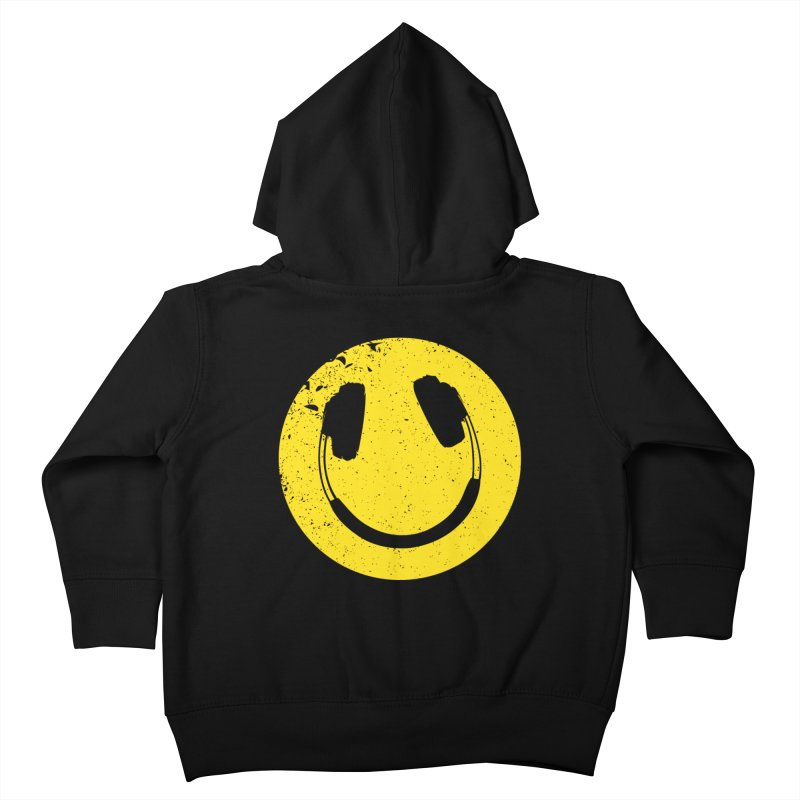 Music makes me feel good! Kids Toddler Zip-Up Hoody by Llorch's Shop