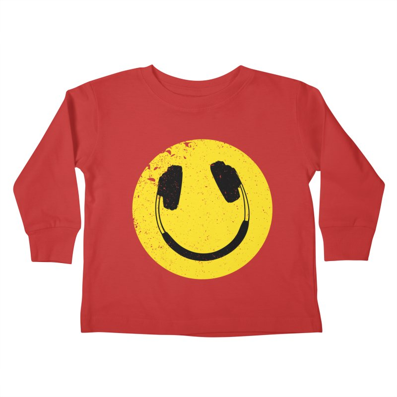 Music makes me feel good! Kids Toddler Longsleeve T-Shirt by Llorch's Shop