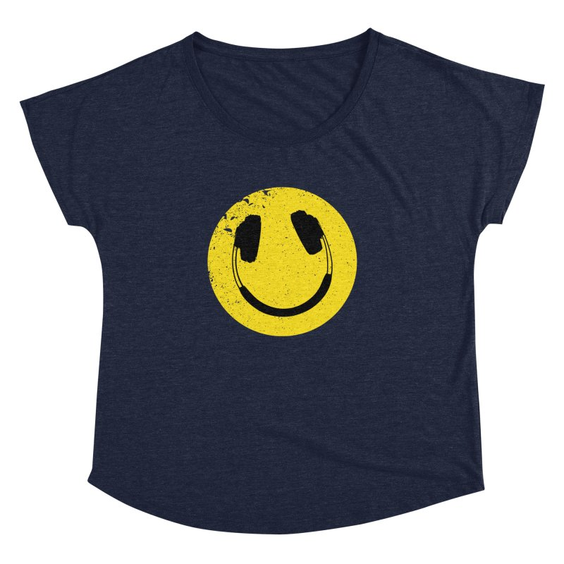 Music makes me feel good! Women's Dolman Scoop Neck by Llorch's Shop
