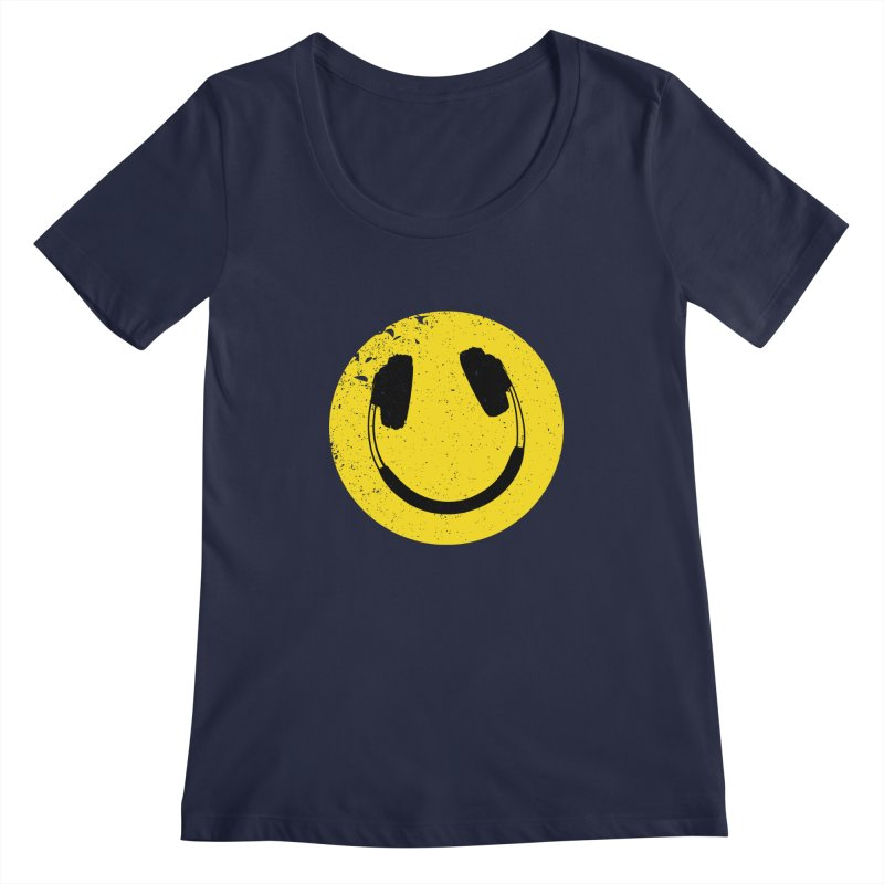 Music makes me feel good! Women's Scoopneck by Llorch's Shop