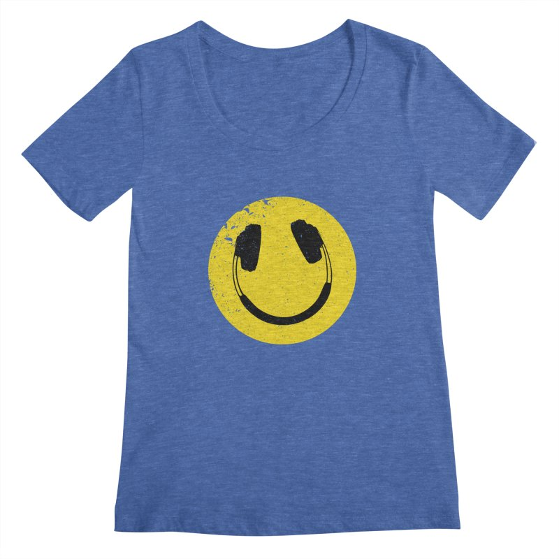 Music makes me feel good! Women's Regular Scoop Neck by Llorch's Shop