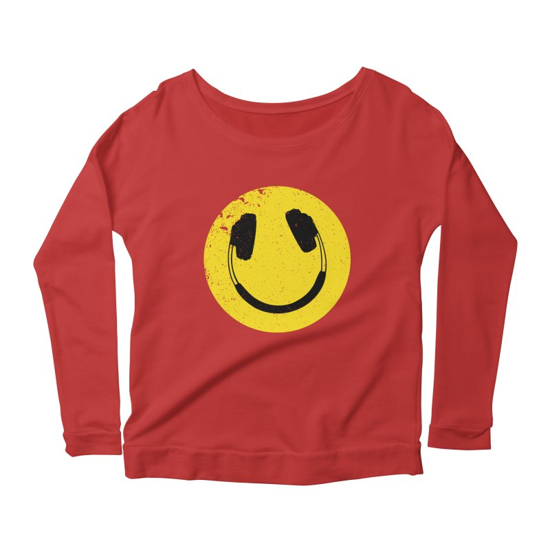Music makes me feel good! Women's Longsleeve Scoopneck  by Llorch's Shop