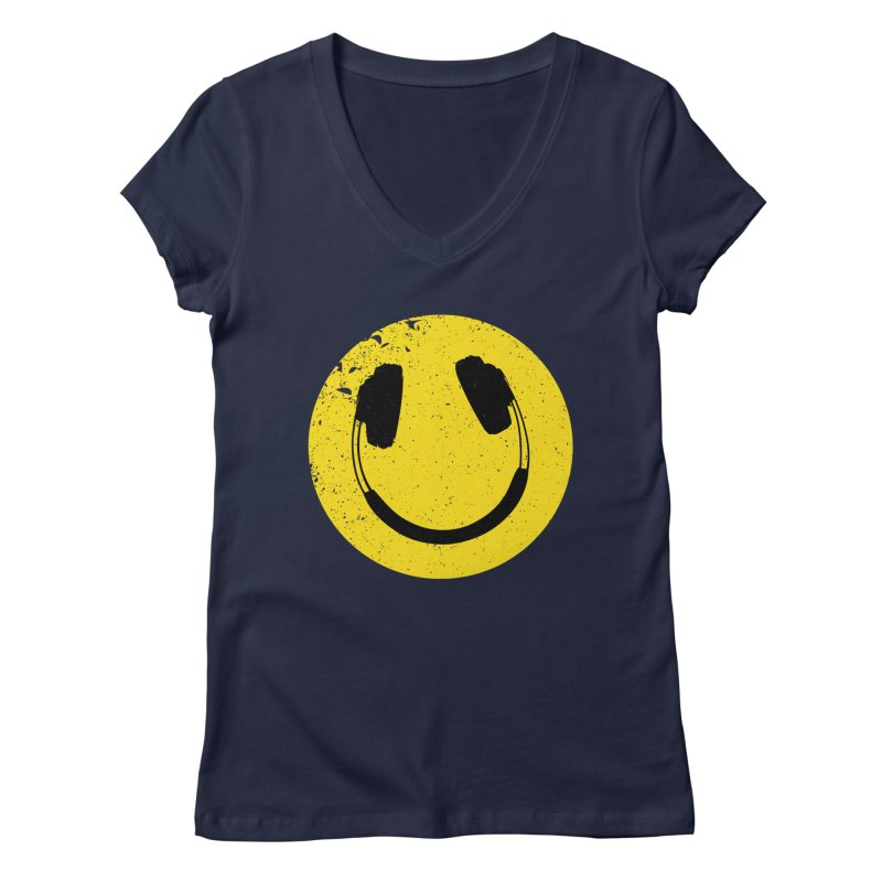 Music makes me feel good! Women's V-Neck by Llorch's Shop