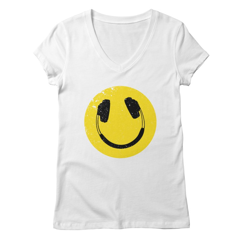 Music makes me feel good! Women's Regular V-Neck by Llorch's Shop
