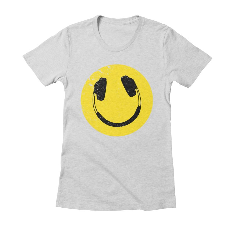 Music makes me feel good! Women's Fitted T-Shirt by Llorch's Shop